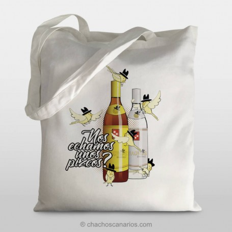 Talega botella de ron