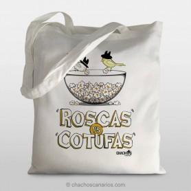 Talega roscas vs. cotufas