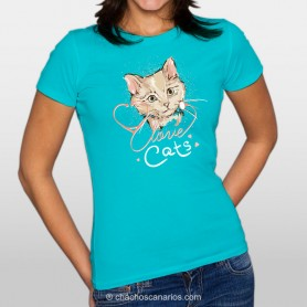 Love cats |MUJER|