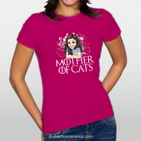 Mother of cats  MUJER 