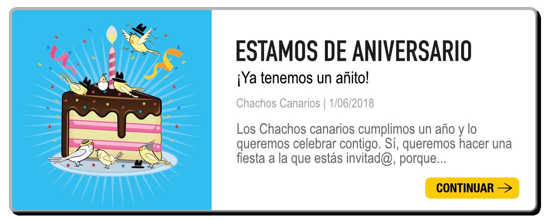 aniversario chachos canarios