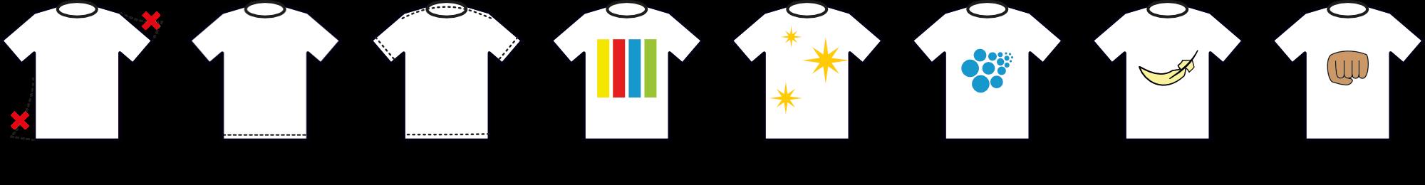 Camisetas de calidad
