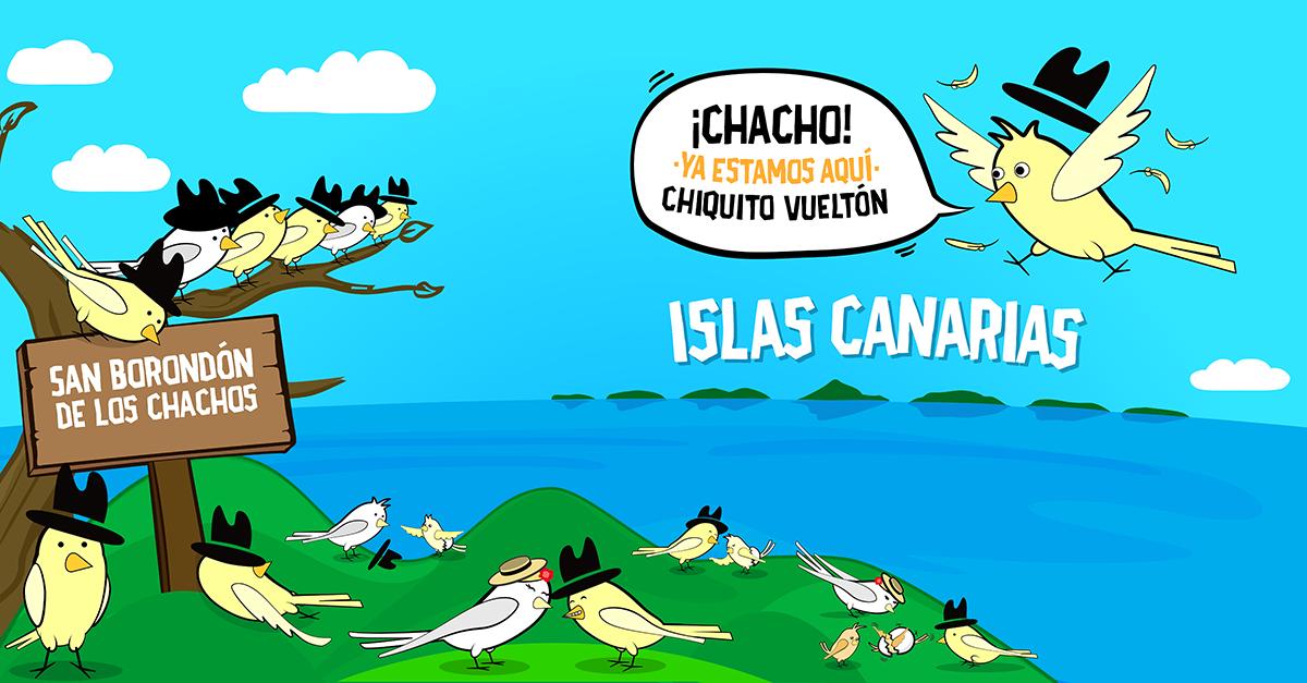 Invasión Chachos Canarios
